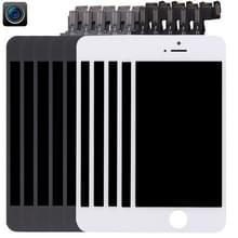 5 stuks Black + 5 PCS White 4 in 1 voor iPhone 5s (Front Camera + LCD + Frame + touchpad) Digitizer vergadering