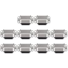 10 stuks opladen Port-Connector voor iPad Air 2(Black)