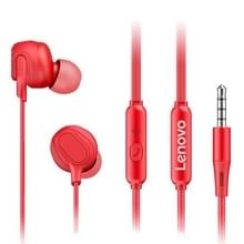Originele Lenovo HF150 Hoge geluidsreductie van hoge geluidskwaliteit in-ear bedrade controle oortelefoon (rood)