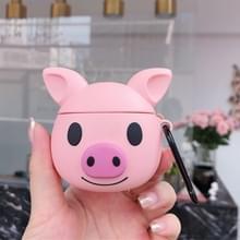 Siliconen cartoon cute Bulldog vorm oortelefoons schokbestendig beschermende case voor Apple AirPods 1/2