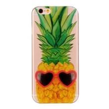 Voor iPhone 6 & 6s ananas patroon IMD vakmanschap TPU beschermende softcase