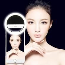 AA Battery Selfie Flash Light  For iPhone  Galaxy  Huawei  Xiaomi  LG  HTC and Other Smart Phones with Adjustable Clip(Black)