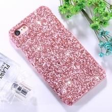 iPhone 6 & 6S Kleurrijk mozaiek achtig patroon Kunststof back cover Hoesje (roze)