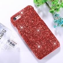 iPhone 6 & 6S Kleurrijk mozaiek achtig patroon Kunststof back cover Hoesje (rood)