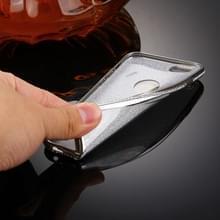 Voor iPhone 6 & 6s Diamond Encrusted galvaniseren Flash poeder TPU beschermende Case(Silver)