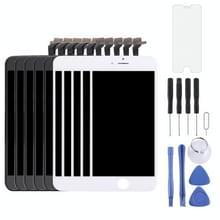 5 stuks Black + 5 PCS White 3 in 1 voor iPhone 6 (LCD + Frame + touchpad) Digitizer vergadering
