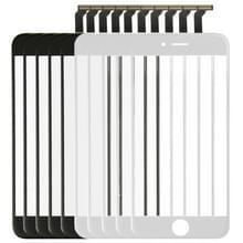 5 stuks Black + 5 stuks wit 2 in 1 voor iPhone 6 (voorste scherm buitenste glaslens + Flex kabel)