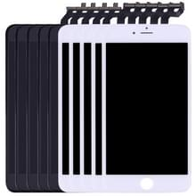 5 stuks Black + 5 PCS White 3 in 1 voor iPhone 6s Plus (LCD + Frame + touchpad) Digitizer vergadering
