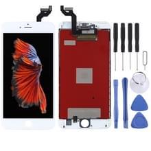 Originele LCD-scherm en digitizer volledige assemblage voor de iPhone 6S plus (wit)