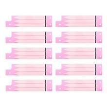 10 stuks voor iPhone 6s Plus batterij plakband Sticker