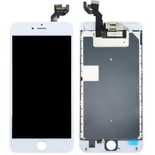4 in 1 voor iPhone 6s Plus (Front Camera + LCD + Frame + touchpad) Digitizer Assembly(White)