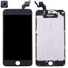 4 in 1 voor iPhone 6 Plus (Front Camera + LCD + Frame + touchpad) Digitizer Assembly(Black)