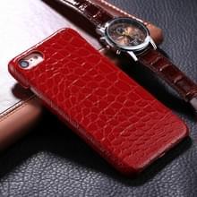 iPhone 6 Plus & 6S Plus Krokodil patroon Kunststof back cover Hoesje (rood)