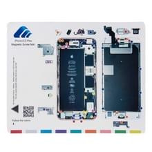 Magnetische schroeven Mat voor iPhone 6s Plus  grootte: 24.9 x 19.9 cm