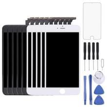 5 stuks Black + 5 PCS White 3 in 1 voor iPhone 6 Plus (originele LCD + Frame + touchpad) Digitizer vergadering