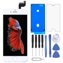Originele LCD-scherm en digitizer volledige assemblage voor de iPhone 6S (wit)