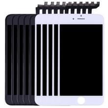 5 stuks Black + 5 PCS White 3 in 1 voor iPhone 6s (LCD + Frame + touchpad) Digitizer vergadering