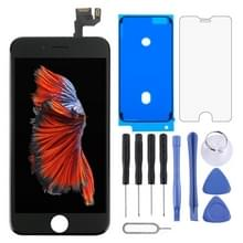 4 in 1 voor iPhone 6s (Front Camera + originele LCD + Frame + touchpad) Digitizer Assembly(Black)