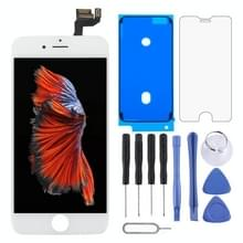 4 in 1 voor iPhone 6s (Front Camera + originele LCD + Frame + touchpad) Digitizer Assembly(White)