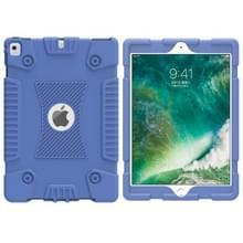 volledige silicone schokbestendige Case voor iPad 9 7 (2018) & iPad Pro 9 7 & iPad 9 7 inch (2017) & iPad Air 2 & iPad lucht (blauw)