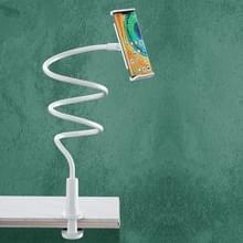 Benks L31 Lazy Bracket 360 graden verstelbare desktophouder voor 4 6-10 5 inch mobiele telefoontablet(wit)