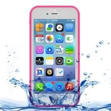 iPhone 7 & 8 geheel omhullend Diamant patroon waterbestendig TPU + Kunststof Hoesje (roze)