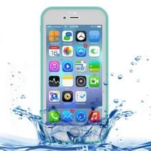 iPhone 7 & 8 geheel omhullend Diamant patroon waterbestendig TPU + Kunststof Hoesje (groen)