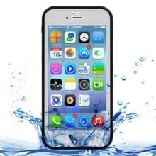 iPhone 7 & 8 geheel omhullend Diamant patroon waterbestendig TPU + Kunststof Hoesje (wit + zwart)