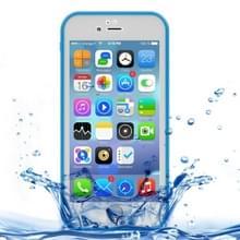 iPhone 7 & 8 geheel omhullend Diamant patroon waterbestendig TPU + Kunststof Hoesje (blauw)