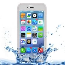 iPhone 7 & 8 geheel omhullend Diamant patroon waterbestendig TPU + Kunststof Hoesje (transparant)