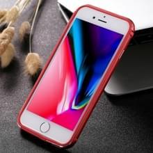 Aluminiumlegering het Frame van de Bumper voor iPhone 8 & 7(Red)
