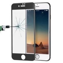 ENKAY voor iPhone 8 & iPhone 7 0 26 mm 9H oppervlakte hardheid titaanlegering 3D Curverd Arc explosieveilige getemperd glas volledige scherm Film(Black)