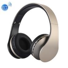 BTH-811 vouwen Stereo draadloze Bluetooth hoofdtelefoon hoofdtelefoon met MP3-speler-FM-Radio  voor Xiaomi  iPhone  iPad  iPod  Samsung  HTC  Sony  Huawei en andere Audio Devices(Gold)