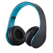 BTH-811 vouwen Stereo draadloze blauwtooth hoofdtelefoon Headset met MP3 Player FM-Radio  voor Xiaomi  iPhone  iPad  iPod  Samsung  HTC  Sony  Huawei en andere Audio Devices(blauw)