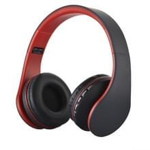 BTH-811 vouwen Stereo draadloze Bluetooth hoofdtelefoon hoofdtelefoon met MP3-speler-FM-Radio  voor Xiaomi  iPhone  iPad  iPod  Samsung  HTC  Sony  Huawei en andere Audio Devices(Red)