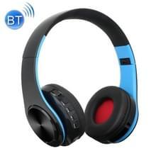 BTH-818 hoofdband vouwen Stereo draadloze Bluetooth hoofdtelefoon hoofdtelefoon  voor iPhone  iPad  iPod  Samsung  HTC  Sony  Huawei  Xiaomi en andere Audio-apparaten (zwart + blauw)