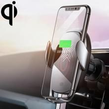 ROCK W28 15W QI Inductie draadloos opladen Car Air Outlet Bracket voor 4 7-6 5 inch mobiele telefoons (Tarnish)