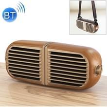 Oneder V8 magnetische zuigkracht paar stereo geluid Box draadloze Bluetooth Speaker met riem  ondersteuning hands-free & TF Card & AUX & USB drive (Champagne Gold)