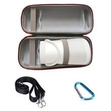 Draagbare schokbestendige Bluetooth Speaker één schouder beschermende doos opbergtas voor BOSE SoundLink revolve + (zwart grijs)