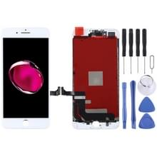 Originele LCD-scherm en digitizer volledige assemblage voor iPhone 7 Plus (wit)