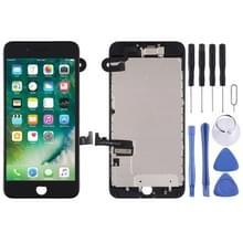 LCD-scherm en Digitizer Full Assembly zijn voorzien van frontcamera voor iPhone 7 Plus (Zwart)