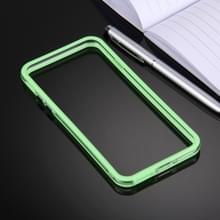 iPhone 7 Plus & 8 Plus TPU + Kunststof bumper frame Hoesje (groen)