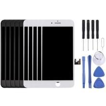 5 stuks zwart + 5 pc's White AUO LCD-scherm en Digitizer voor iPhone 7 Plus (5 zwart + 5 wit)