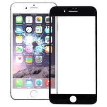 Voorste scherm buitenste glaslens voor iPhone 7 Plus (zwart)