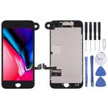 LCD-scherm en Digitizer Full Assembly zijn voorzien van frontcamera voor iPhone 8 (Zwart)