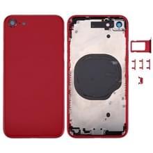 Terug van de dekking van de huisvesting voor iPhone 8 (rood)