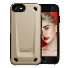 iPhone 7 & 8 ultra-dun Monteur stijl TPU + Kunststof back cover Hoesje (goudkleurig)
