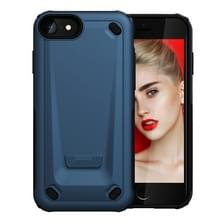 iPhone 7 & 8 ultra-dun Monteur stijl TPU + Kunststof back cover Hoesje (blauw)