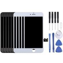 5st zwart + 5 stuks wit LCD-scherm en de volledige vergadering Digitizer voor iPhone 8