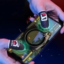 ROCK i27 Super geleidende zilveren vezel anti-zweet gevoelige touch gaming vinger cover voor duim / wijsvinger